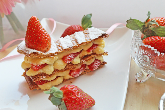 花店附加礼物 - mille-feuille - FOOD000127 Photo