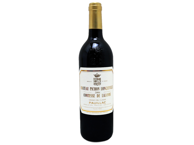 花店附加禮物 - Pichon Longueville Pauillac 2006 - L19887 Photo