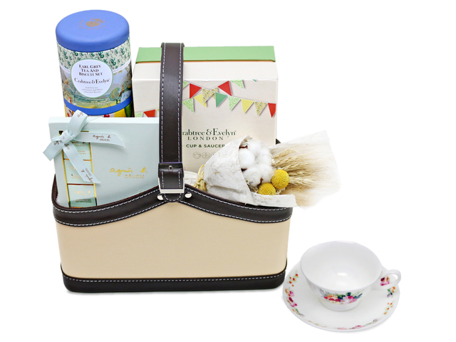 Birthday Present - Crabtree and Evelyn Cup Set Hamper - L76602048 Photo