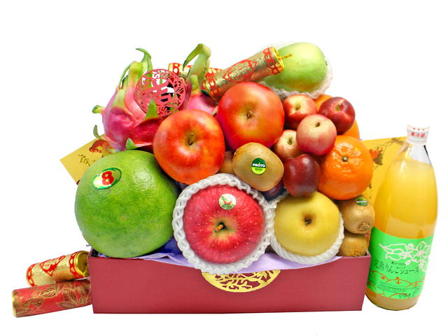 CNY Gift Hamper - CNY  Fruit Hamper N18 - L167991 Photo