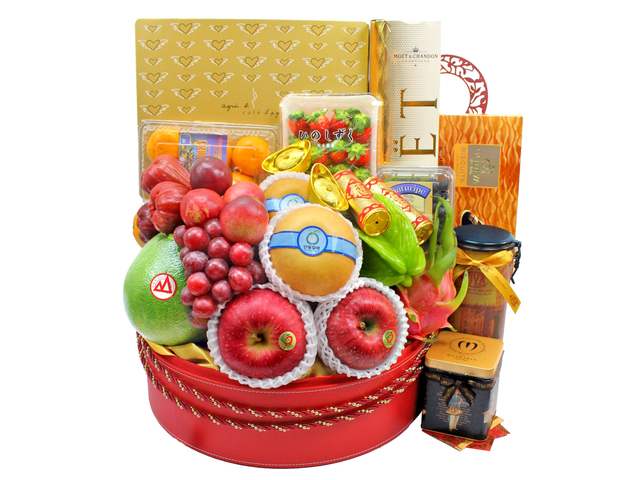 CNY Gift Hamper - CNY  Fruit Hamper N23 - L3101472 Photo