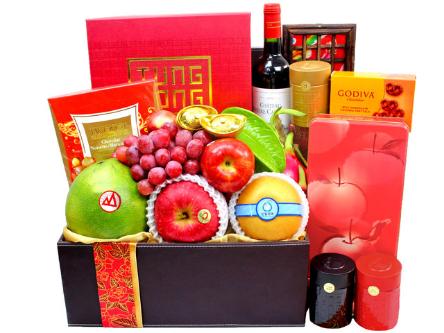 CNY Gift Hamper - CNY  Fruit Hamper N25 - L3101428 Photo