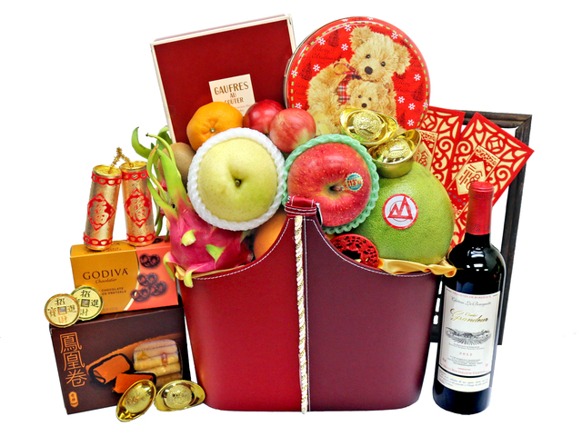 CNY Gift Hamper - CNY Gift Hamper R65 - L36667166 Photo