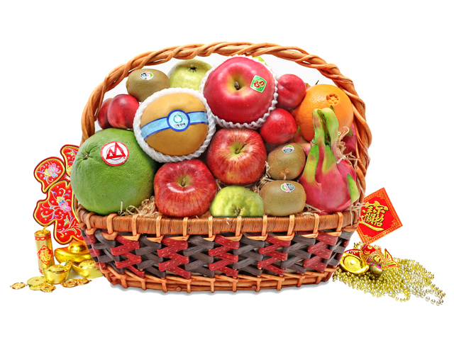CNY Gift Hamper - CNY fruit basket M3 - L76600801b Photo