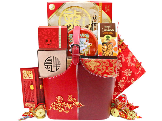 CNY Gift Hamper - CNY fruit basket M6 - L76604168 Photo