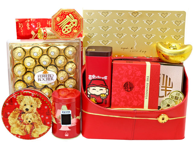 CNY Gift Hamper - CNY fruit basket M7 - L76604196 Photo