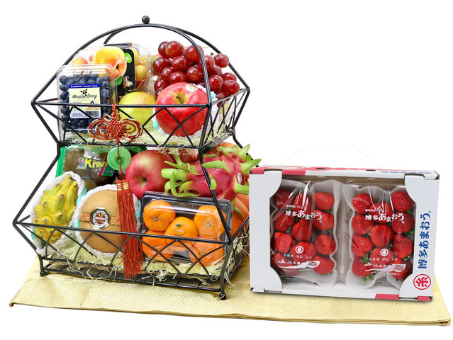CNY Gift Hamper - CNY fruit basket Z2 - L76607770CNYN Photo