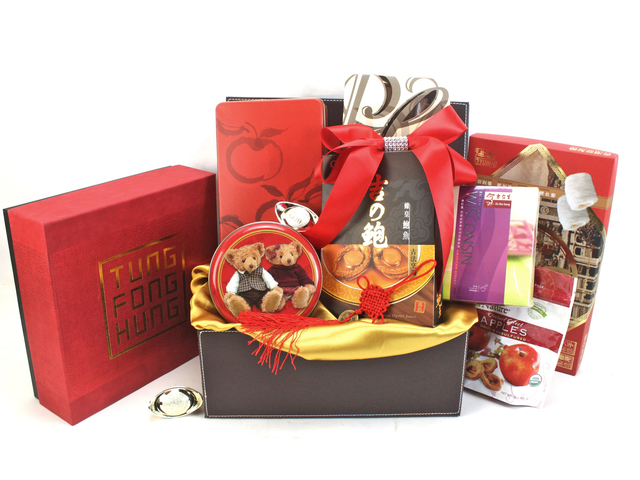 CNY Gift Hamper - ShopThruPost - CNY Hamper A - L61235 Photo