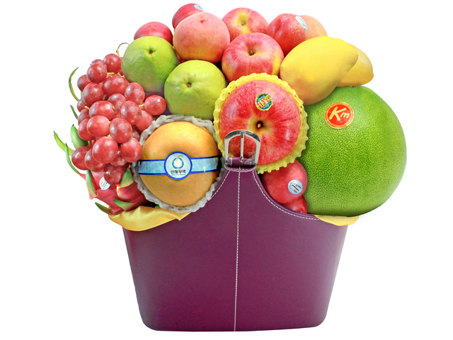 CNY Gift - CNY  Fruit Hamper N1 - L139493N Photo