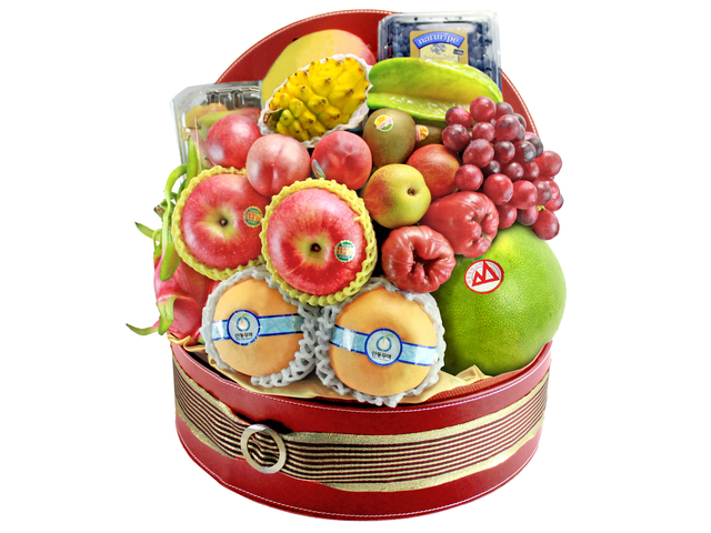 CNY Gift - CNY  Fruit Hamper N3 - L139663b Photo