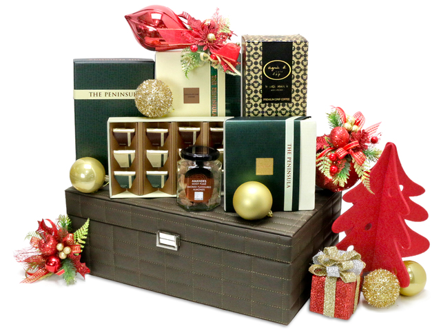 Christmas Gift Hamper - Christmas China Overseas mailable hamper Z1 - L76603291 Photo