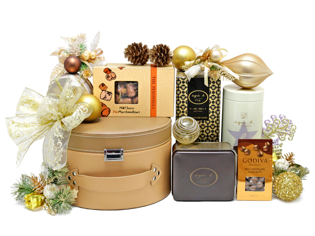 Christmas Gift Hamper - Christmas China Overseas mailable hamper Z3 - L76603077 Photo