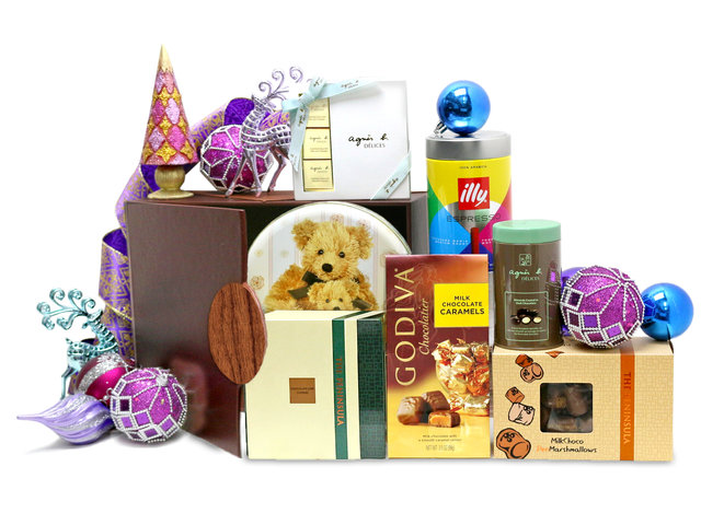 Christmas Gift Hamper - Christmas China Overseas mailable hamper Z4 - L76603333 Photo