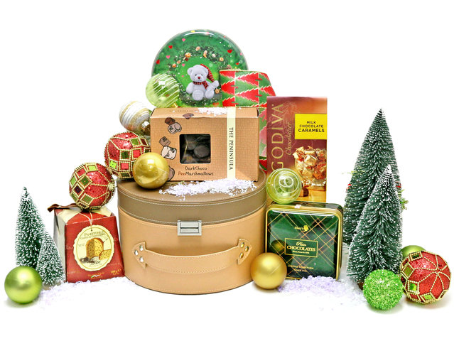 Christmas Gift Hamper - Christmas China Overseas mailable hamper Z6 - L76603345 Photo