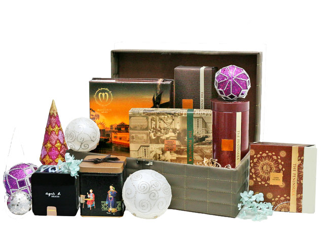 Christmas Gift Hamper - Christmas China Overseas mailable hamper Z8 - L76603902 Photo