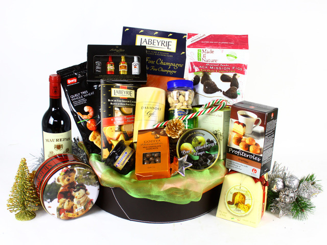 Christmas Gift Hamper - Christmas Gift Hamper L - L19202 Photo