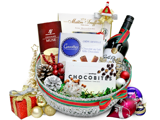 Christmas Gift Hamper - Christmas Gift Set S28 - L36666958 Photo