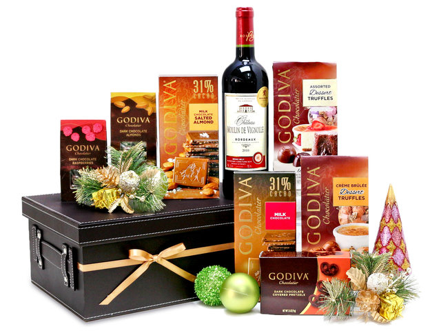 Christmas Gift Hamper - Godiva Christmas hamper M6 - L76603991 Photo