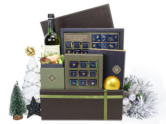 Christmas Gift Hamper - Maison XXII Christmas Gift Hampers M2 - XH1203A1 Photo