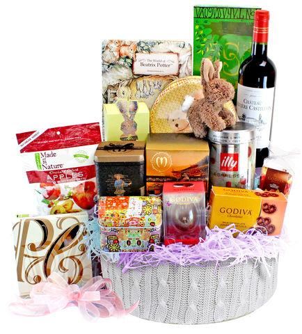 Easter Gift Hampers - Easter GiftHamper E11 - L126541b Photo