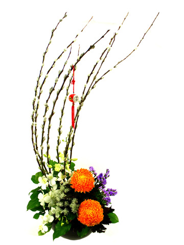 Florist Flower Arrangement - CNY florist Deco CL06 - B3605 Photo