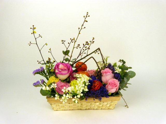 Florist Flower Arrangement - Desk Flower (04) - P6964 Photo