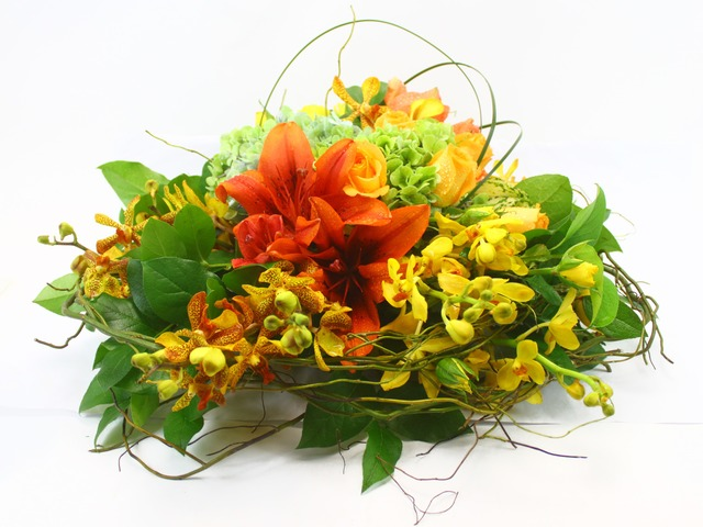Florist Flower Arrangement - Flower Decor 1 - L17110 Photo