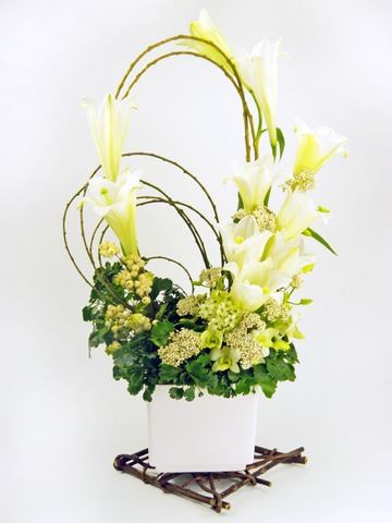 Florist Flower Arrangement - Forever Young - P3042 Photo