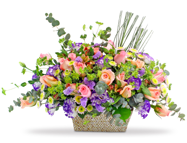 Florist Flower Arrangement - Fresh Desktop Flower 18 - L128459 Photo