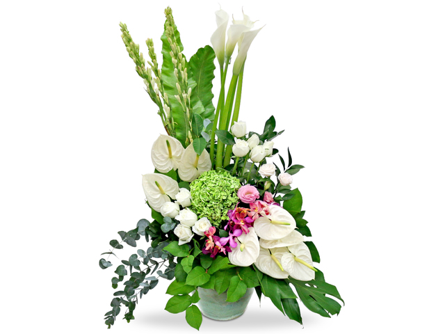 Florist Flower Arrangement - Large florist Decor BG18 - L76602614 Photo