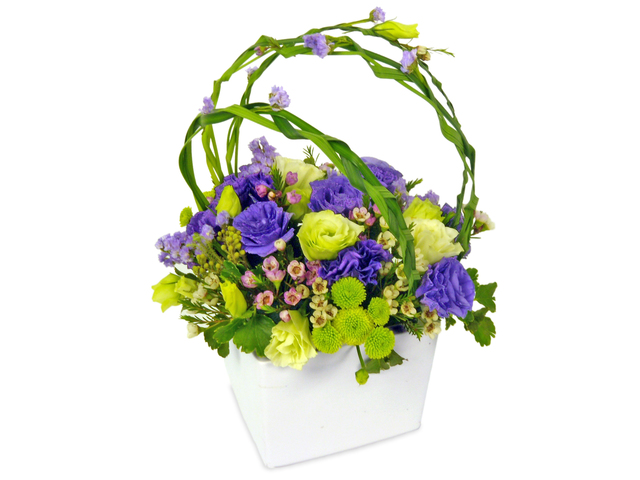 Florist Flower Arrangement - Lila - P7498 Photo