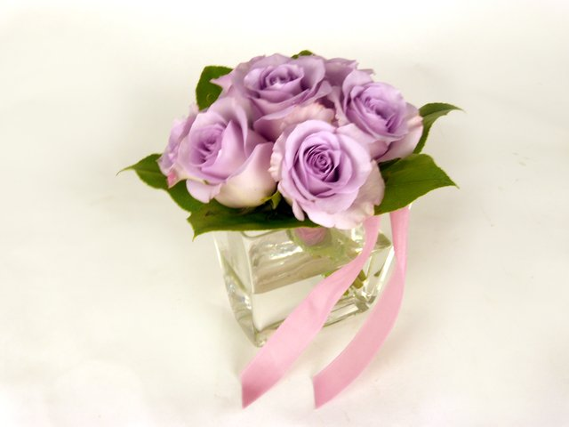 Florist Flower Arrangement - Simply Lavender - P8779 Photo