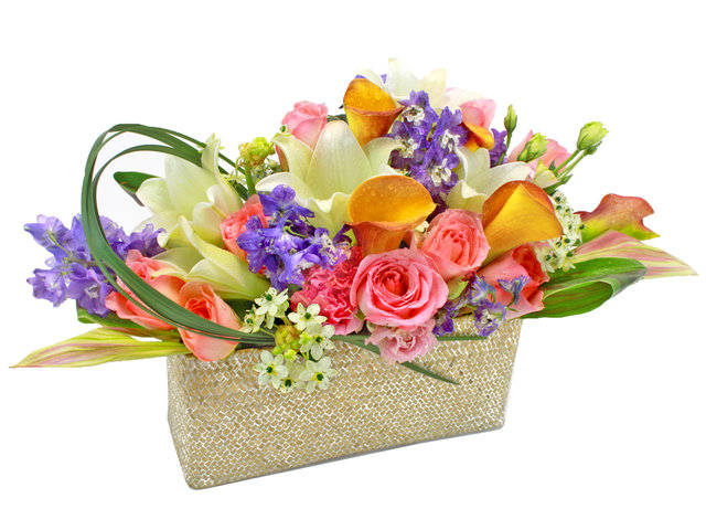 Florist Flower Arrangement - Spring Blessings - L24570 Photo
