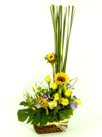 Florist Flower Arrangement - Sun and Flower - P9808 Photo