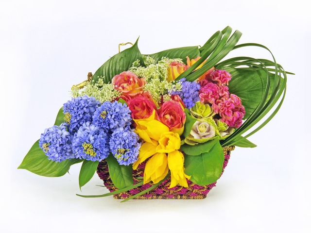 Florist Flower Arrangement - Treasure Boat - P4288 Photo