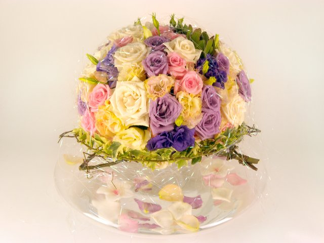 Florist Flower Arrangement - Wedding Decor (C) - P8955 Photo