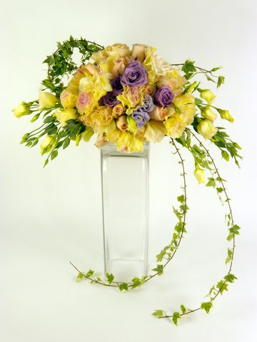 Florist Flower Arrangement - Wedding Decor (E) - P9051 Photo
