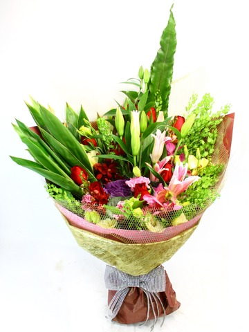 Florist Flower Bouquet - Elegant demeanor Bouquet - L23406 Photo