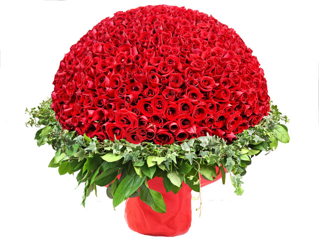 Florist Flower Bouquet - For You Only (999 Rose Bouquet) - L9756 Photo