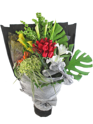 Florist Flower Bouquet - Garden Bouquet 01 - L66278 Photo
