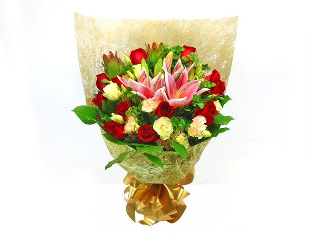 Florist Flower Bouquet - Gift / Birthday Flower Bouquet U - L38263 ...