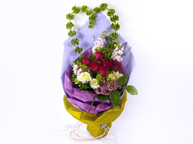 Florist Flower Bouquet - Heart Bouquet - P5579 Photo
