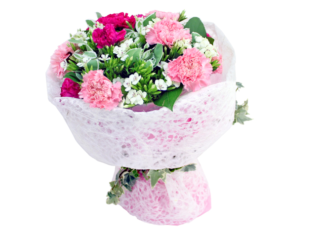 Florist Flower Bouquet - I Love Mom 1 - L06692 Photo