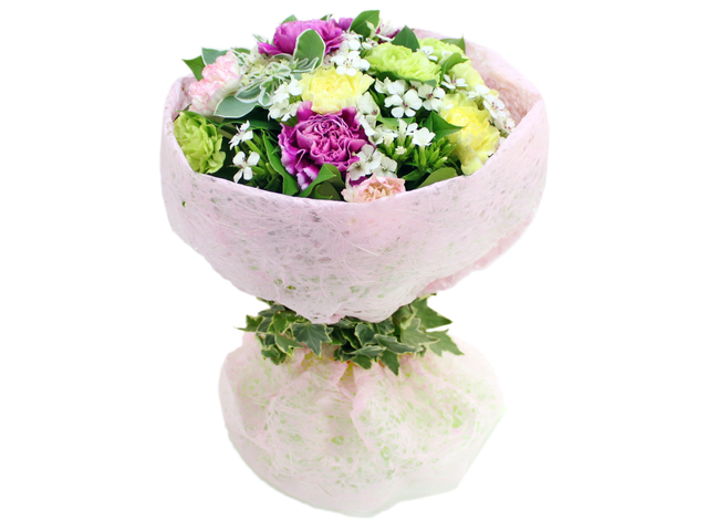 Florist Flower Bouquet - I Love Mom 2 - L06696 Photo