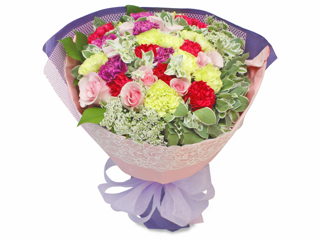 Florist Flower Bouquet - Mother's Day Roses Bouquet 11 - L82168 Photo