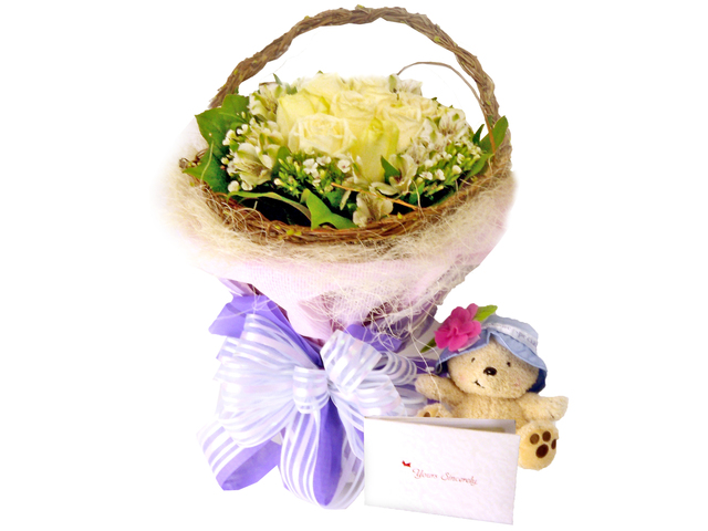 Florist Flower Bouquet - My Little Princess Bouquet - P5538 Photo