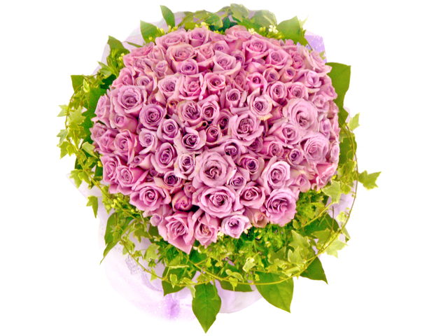Florist Flower Bouquet - Only You (99 Rose Bouquet) - P16475 Photo