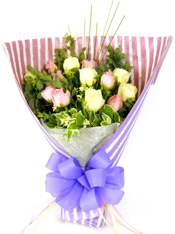 Florist Flower Bouquet - Pink Beauty Bouquet - P16786 Photo