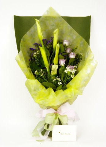 Florist Flower Bouquet - Simple Beauty - P8793 Photo