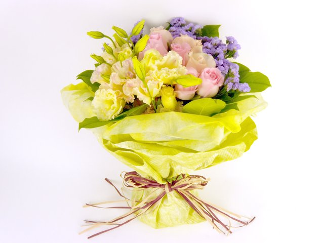 Florist Flower Bouquet - Soft Wonders - B7368 Photo
